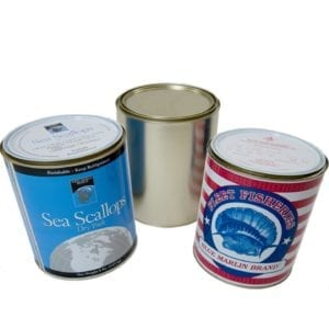 Metal Can Containers