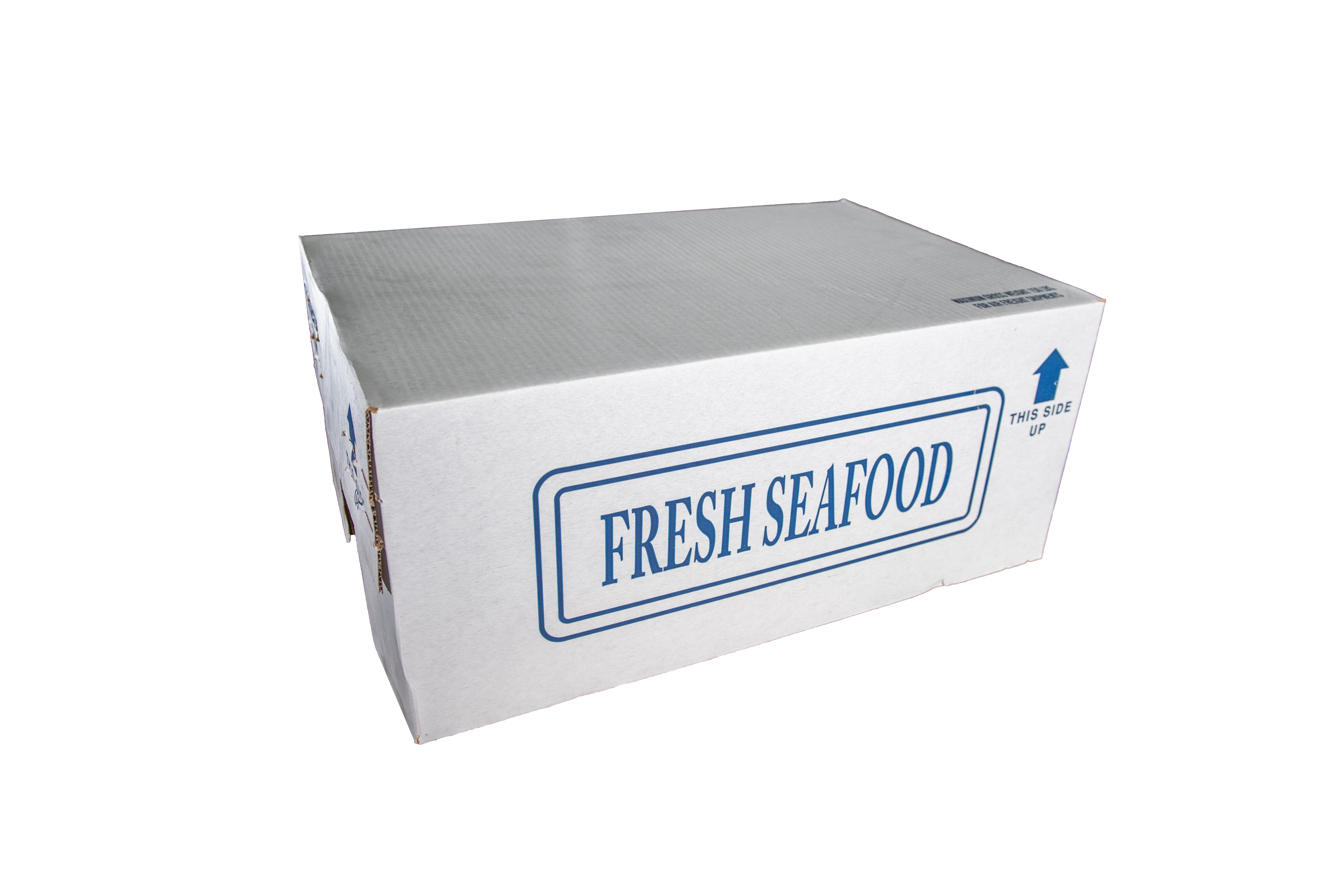 Wax Seafood and Corrugated Boxes Langing Page - Skips Marine